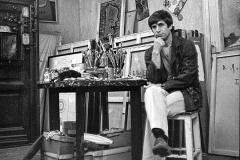 "Artist Vladimir Yankilevsky. From the series ""Love me, love my umbrella"". 1984"